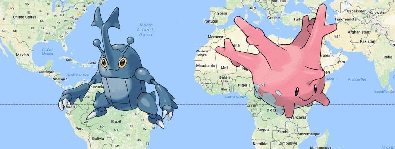 Nowe Pokemony regionalne – Heracross oraz Corsola. Gdzie można je złapać?