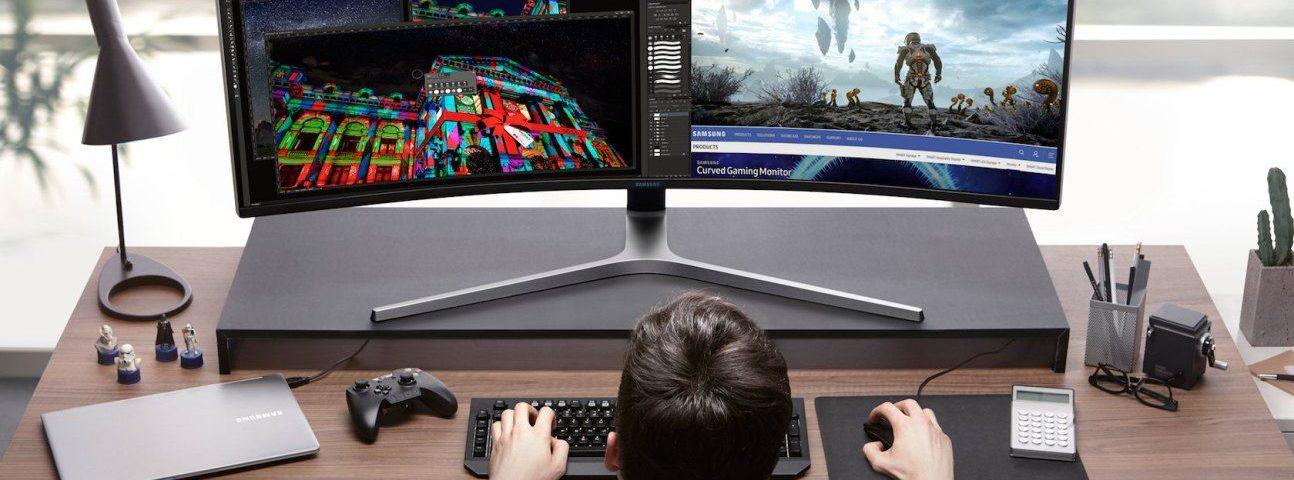 Samsung CHG90 to monitor przyszłości z proporcjami ekranu 32:9