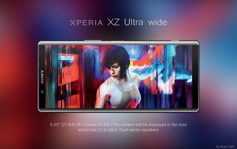 Sony Xperia XZ Ultra i Xperia Ultra Wide prezentują się fenomenalnie! [Projekt]