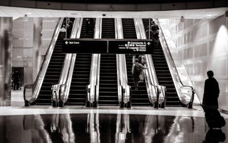 Jesteśmy pokoleniem ruchomych schodów