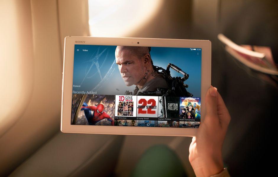 Sony Xperia Z4 Tablet 4